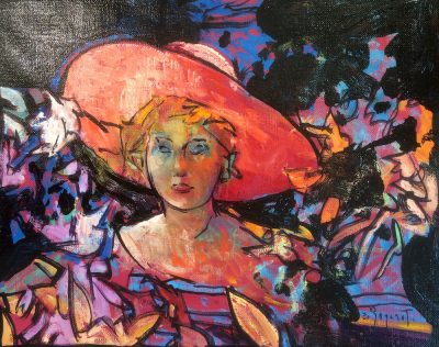 Le chapeau rose - Eugène Bégarat