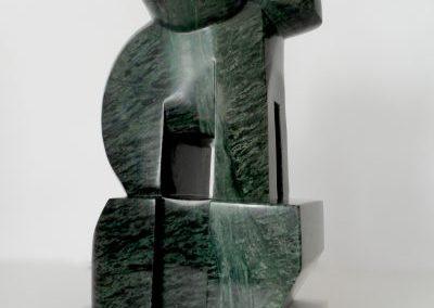 Bélier, marbre vert