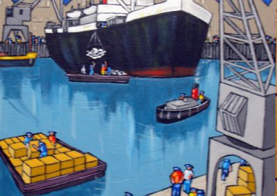 Cargos ports 4