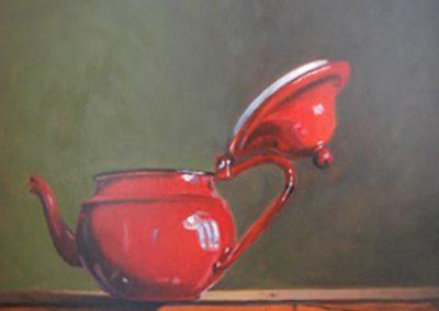 La théière rouge