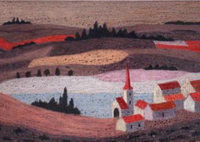 Village en Bourgogne