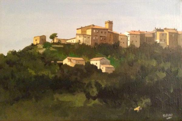 Paesino toscane Arno